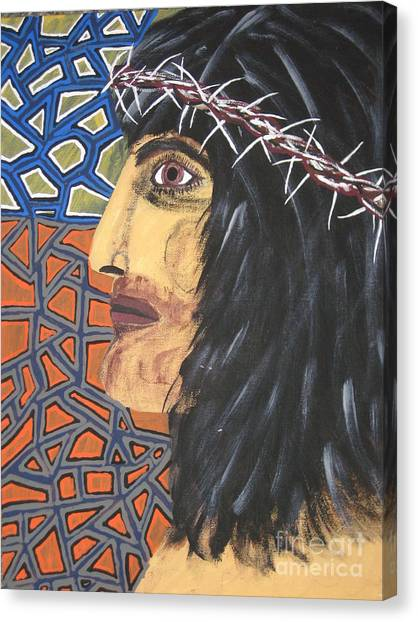 Canvas Print - Jesus by Jeffrey Koss