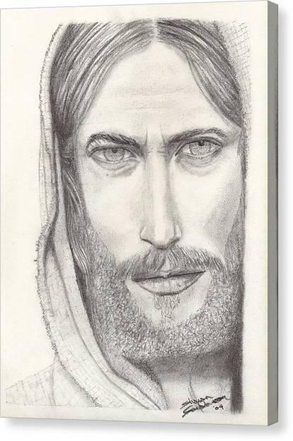 Jesus Of Nazareth Canvas Print by Shawn Sanderson