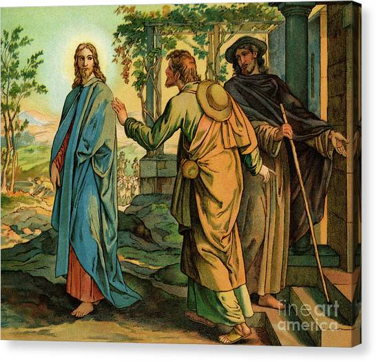 Resurrected Canvas Print - Jesus Resurrected  Bible, New Testament by English School