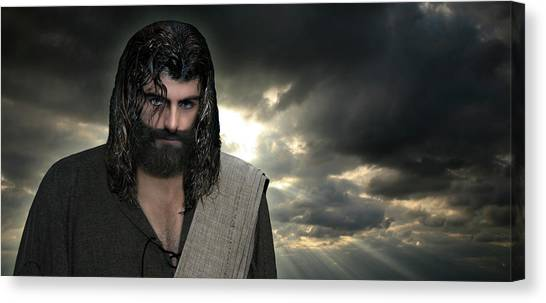 Jesus- Will You Hear Me Shout Come Up Canvas Print