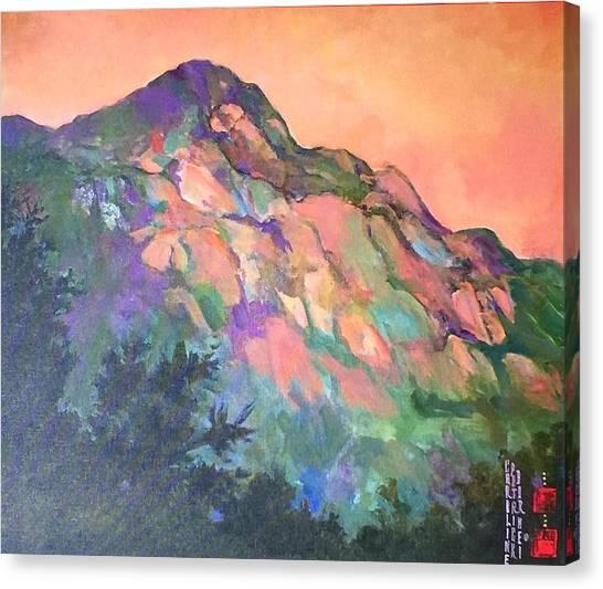 Jewel Mountain 1. Canvas Print