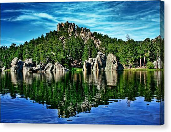 Jewel Of The Black Hills Canvas Print