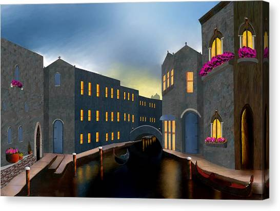 Jewel Of Venice Canvas Print