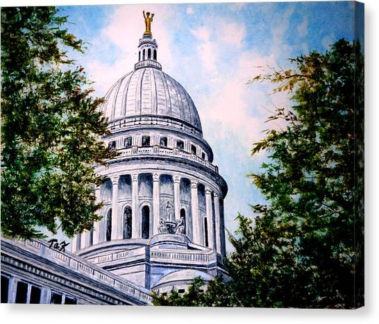 Jewel Of Wisconsin Canvas Print