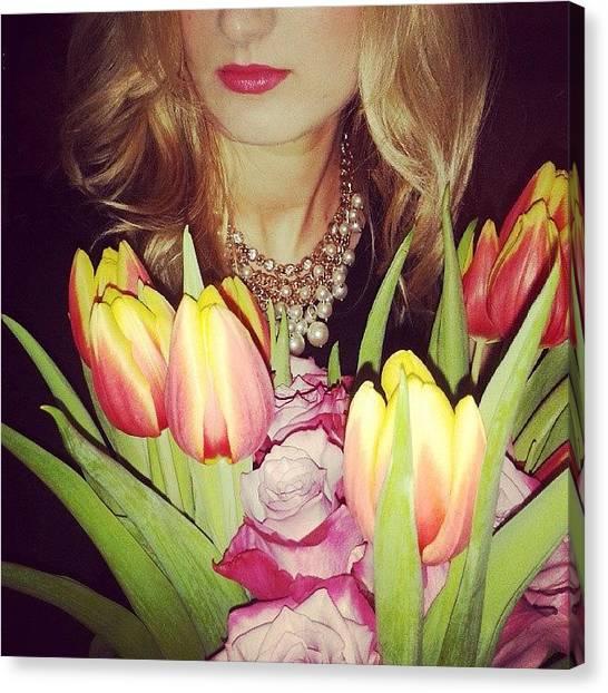 Gemstones Canvas Print - #jewelry #jewels #jewel #rutagsforlikes by Anna Albert
