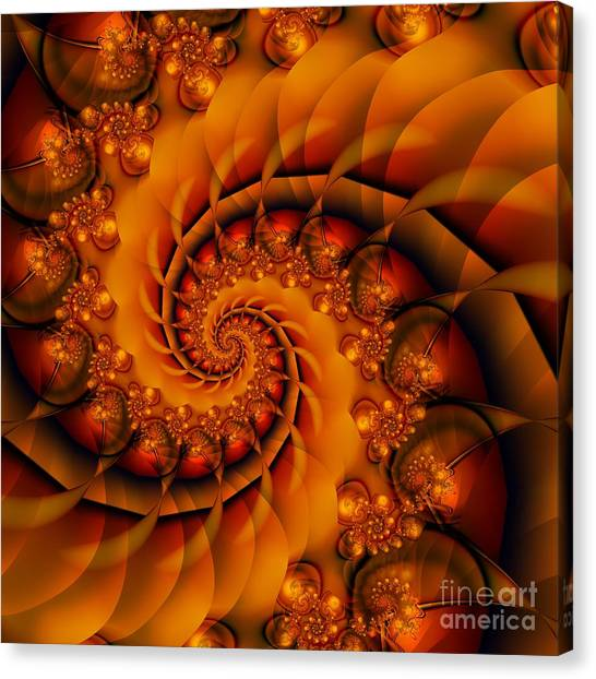 Jewels Of Autumn Canvas Print