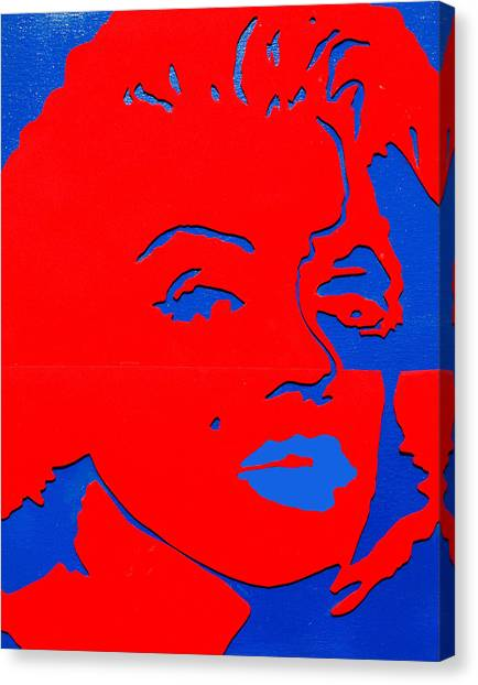 Jfk And The Other Woman Canvas Print