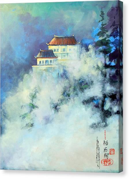 Jihuan Shan China Canvas Print