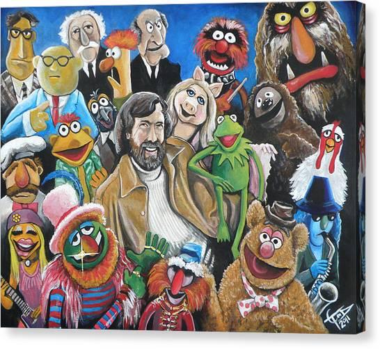 Jim Henson And Co. Canvas Print