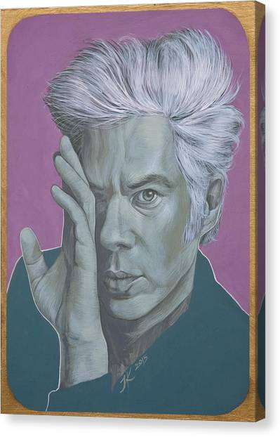 Jim Jarmusch Canvas Print by Jovana Kolic