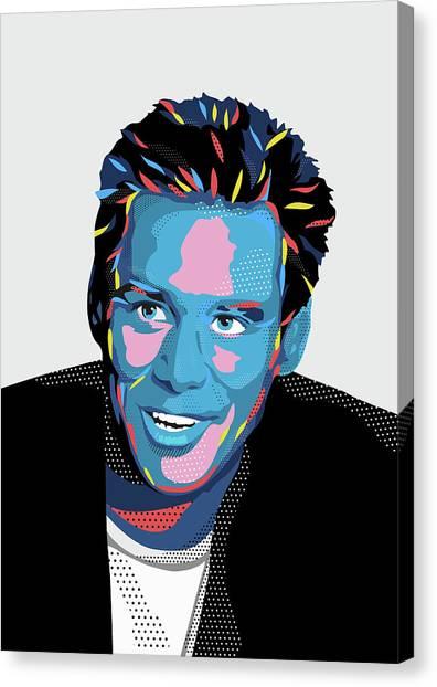 Jim Carrey Canvas Print - Jim by Julien Missaire
