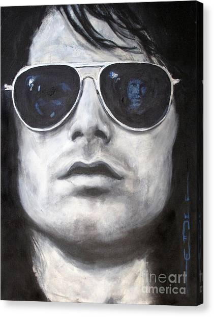 Jim Morrison IIi Canvas Print