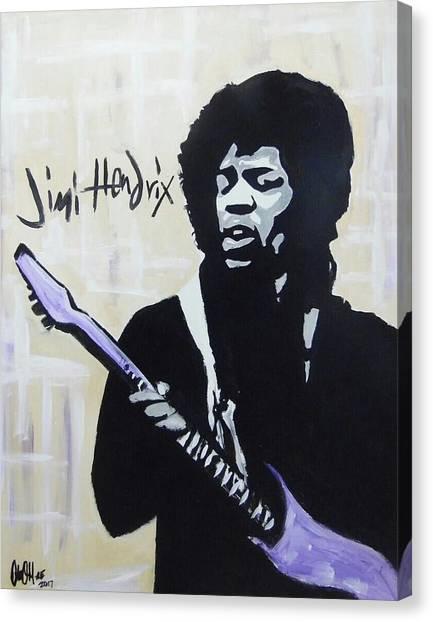 Jimi Gretness Canvas Print