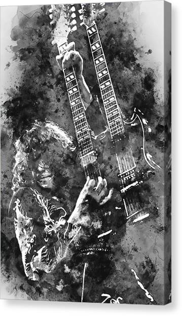 Jimmy Page - 02 Canvas Print