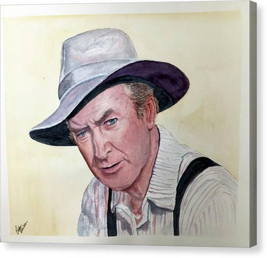Jimmy Stewart Canvas Print