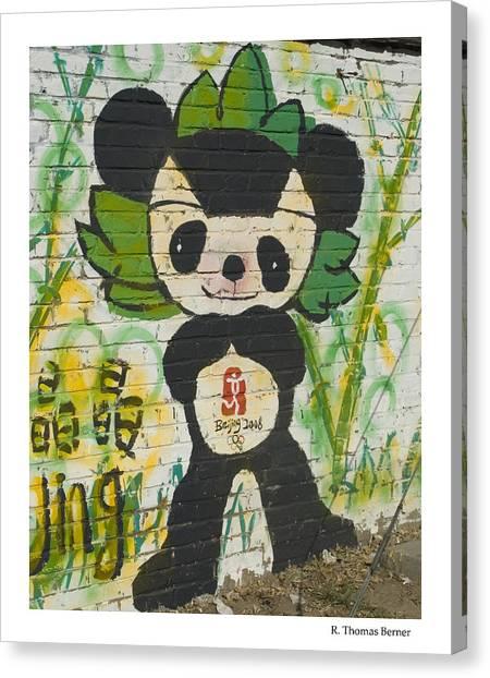 Jing Jing Canvas Print