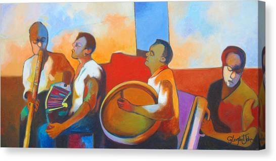 Jing  Ping Band Canvas Print