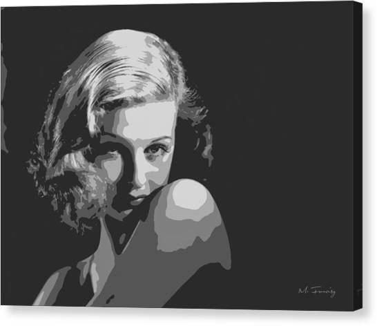 Joan Geraldine Bennett Canvas Print