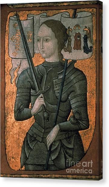 Aod Canvas Print - Joan Of Arc (c1412-1431) by Granger