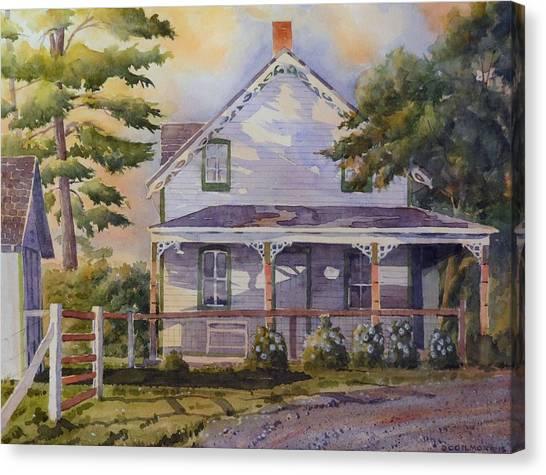Joanne's House Canvas Print
