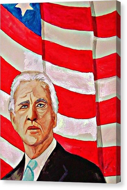 Joe Biden Canvas Print - Joe Biden 2010 by Ken Higgins