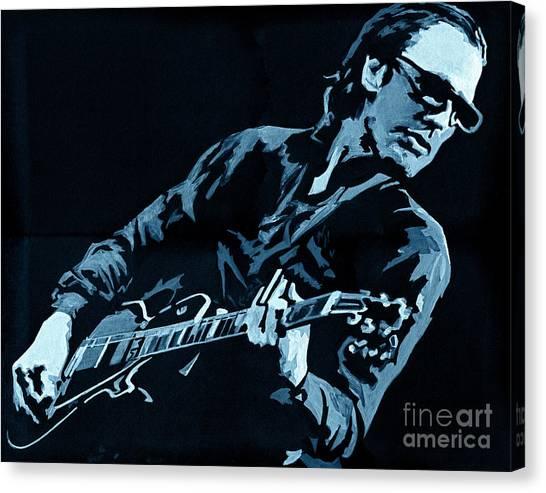 Joe Bonamassa - Different Shades Of Blue Canvas Print