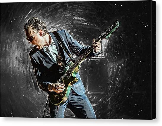 Stratocasters Canvas Print - Joe Bonamassa by Zapista