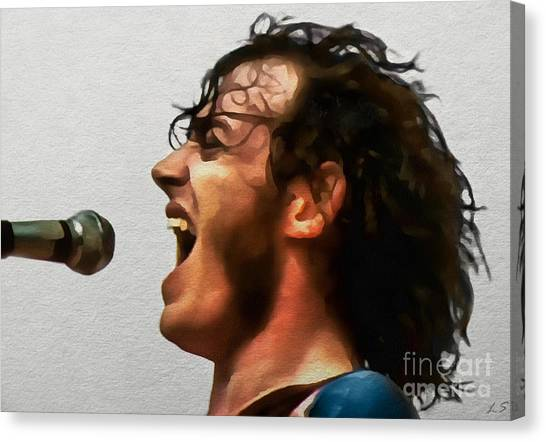 Joe Cocker 01 Canvas Print