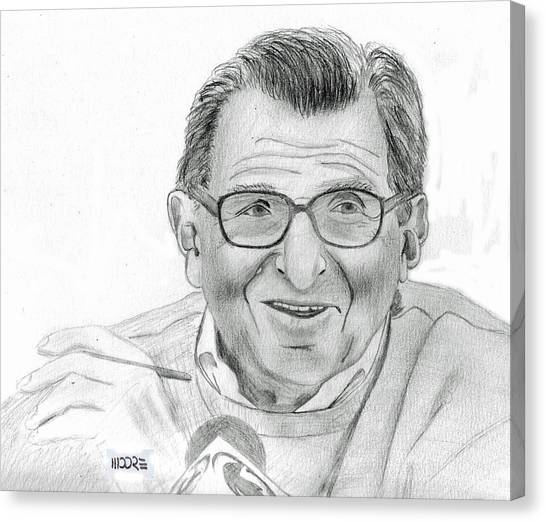 Joe Paterno Canvas Print