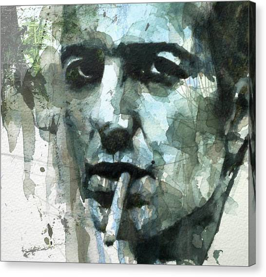 Punk Canvas Print - Joe Strummer - Retro  by Paul Lovering