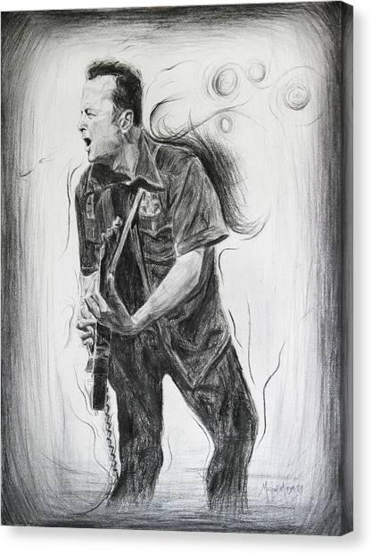 Joe Strummer's Dream Canvas Print