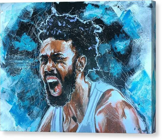 Joel Berry II Canvas Print