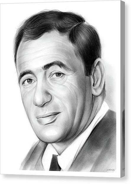 Frank Sinatra Canvas Print - Joey Bishop by Greg Joens