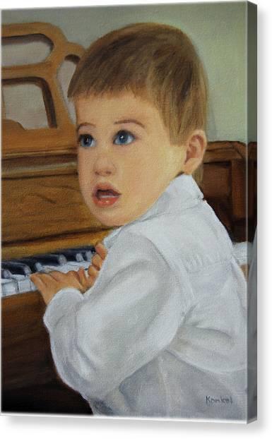 Joey Canvas Print by Lisa Konkol