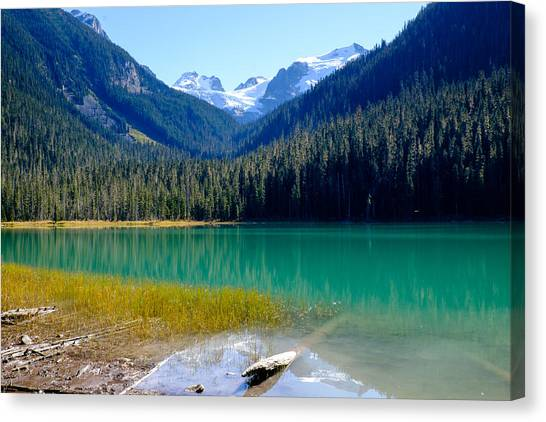 Joffre Lake Horizontal Canvas Print