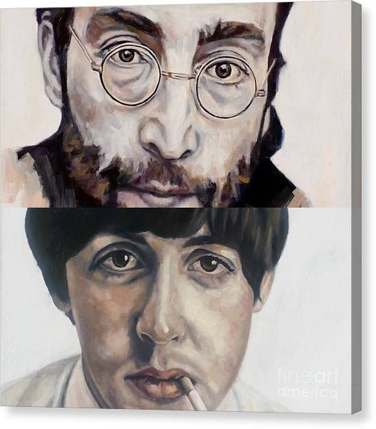John And Paul Canvas Print