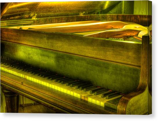 John Broadwood And Sons Piano Canvas Print