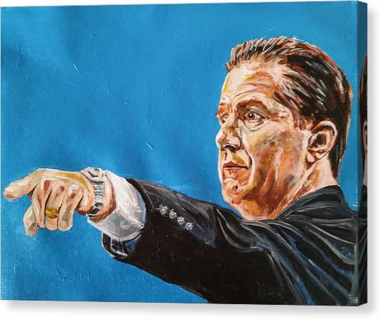 John Calipari Canvas Print