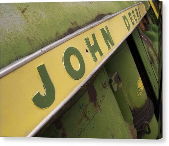John Deere Canvas Print - John Deere by Jeffery Ball