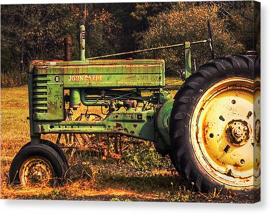 John Deere Retired Canvas Print