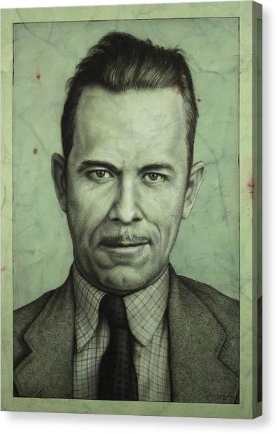 John Dillinger Canvas Print