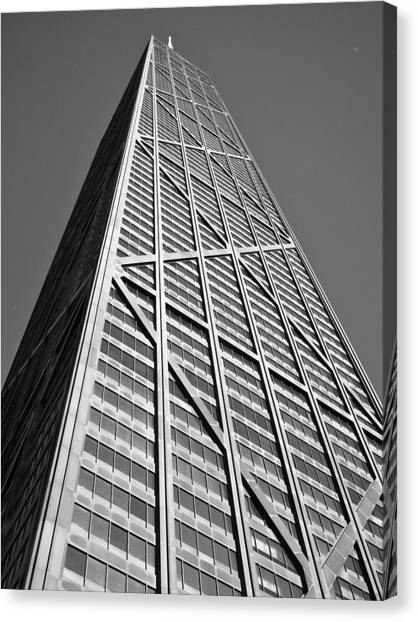 John Hancock Building Canvas Print