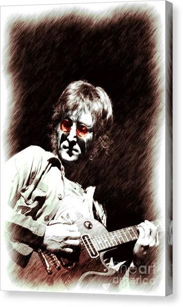 John  Imagine Canvas Print