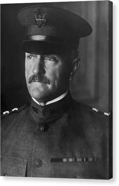 Wwi Canvas Print - John J. Pershing by War Is Hell Store