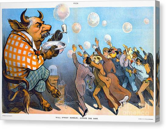 Minotaurs Canvas Print - John Pierpont Morgan by Granger