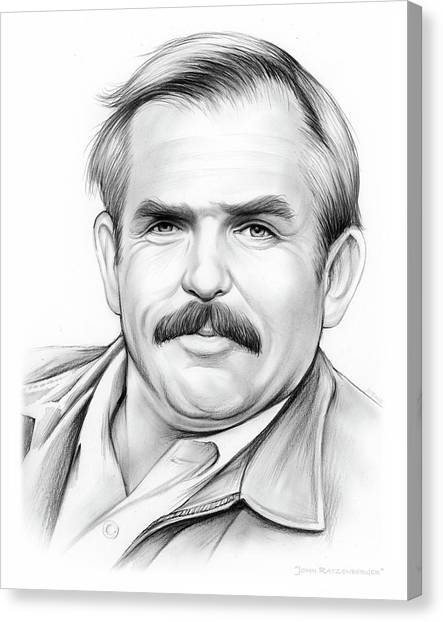 Cliffs Canvas Print - John Ratzenberger by Greg Joens