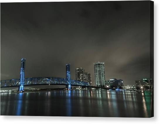John T. Alsop Bridge 2 Canvas Print