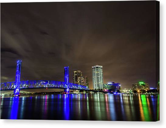 John T. Alsop Bridge Canvas Print
