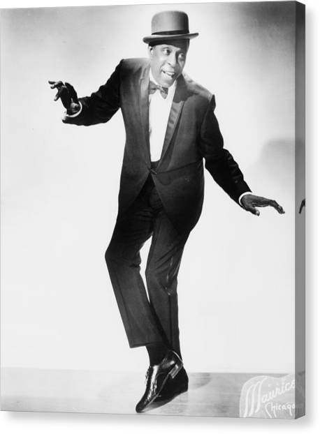 Tap Dance Canvas Print - John W. Bubbles 1902-1986 Was The Best by Everett