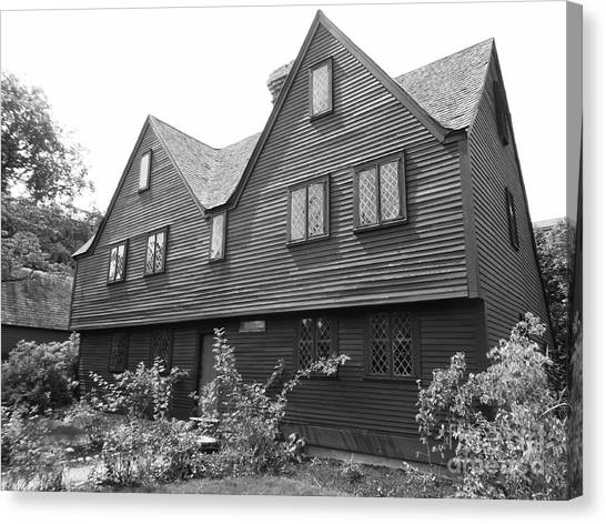 John Ward House, Salem, Massachusetts Canvas Print